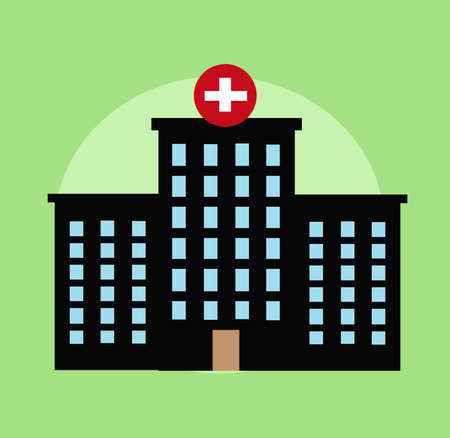 Hospital vector illustration design