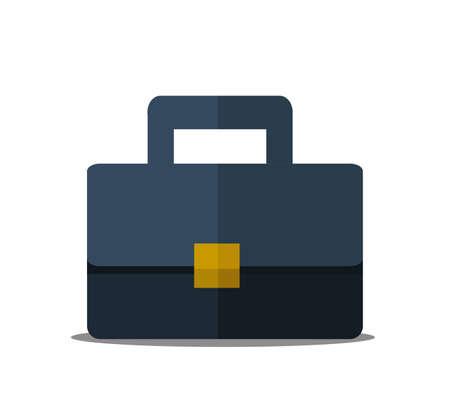 Bussiness briefcase. Vector illustration design