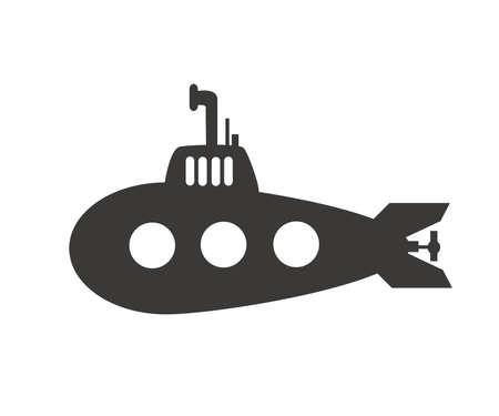 Submarine vector illustration design