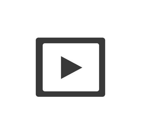 video icon vector illustration
