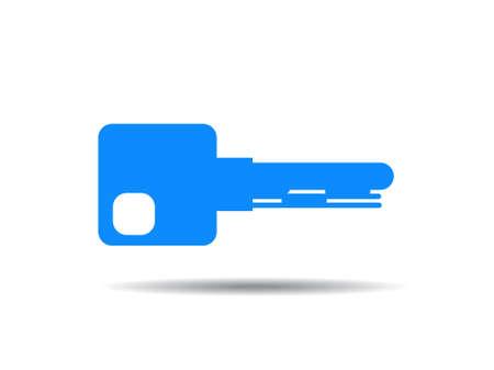 Key vector illustration icon