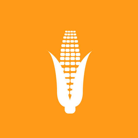 corn icon vector illustration