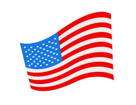 Vector American Flag illustration