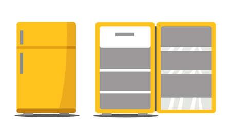 fridge vector illustration design