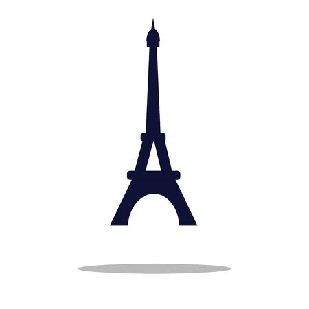Eiffel Tower isolated on white background. Vector, Illustration 스톡 콘텐츠 - 149938959