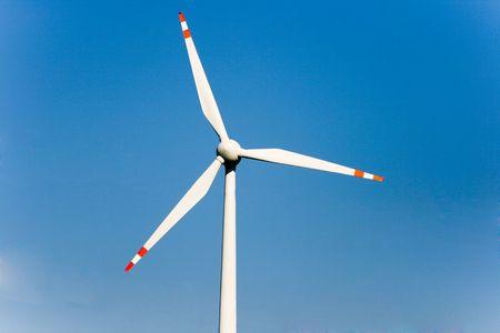 Photo Of An Aeolian Generator Closeup On A Blue Sky Stock Photo - 5149350
