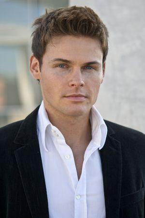 Portrait Photo Of A Handsome Man In A Corporate Attire