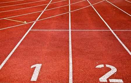 Photo Of Running Track Lanes On A Sports Stadium