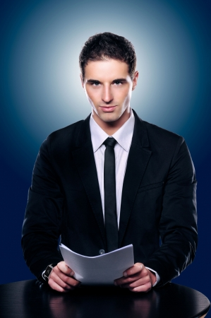 Photo Of A Handsome Presentable News Or Corporate Man Stock Photo - 5394230