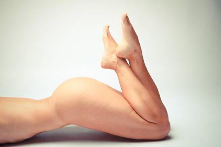 Sensual Lower Parts Of A Beautiful White Woman