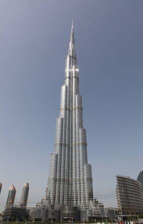 DUBAI, Vereinigte Arabische Emirate - 2112011: das höchste Hochhaus Gebäude In der Welt - Burj Dubai (Burj Khalifa) Editorial
