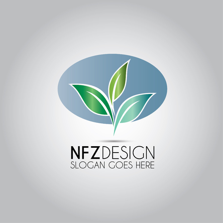 Leaf Logo Logo