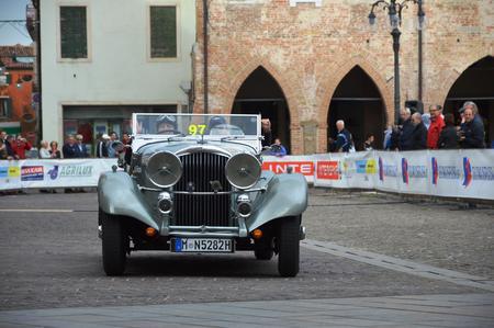 1000 Miles, may 16 2014, Este - Italy: Bentley 3.5 Vanden Plas, 1934