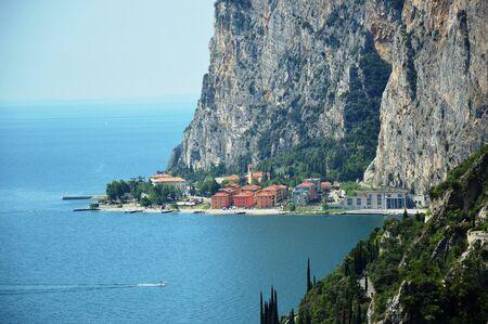 Garda lake west coast, Italy