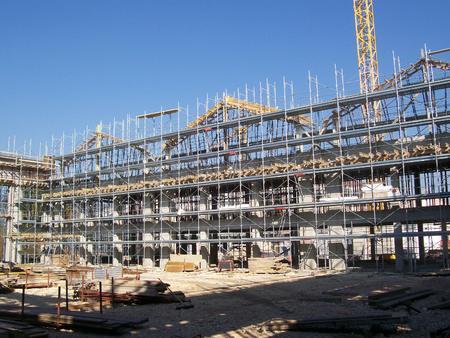 Gym building construction