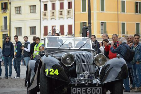 1000 マイル 2014 年 5 月 16 日、エステ - イタリア: ライリー スプライト TT、1938 報道画像