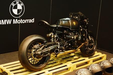 Verona, Italy - jan 20 2017: motor bike expo, motorbike BMW Motorrad