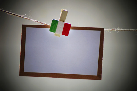 writting: white paper with peg for writting