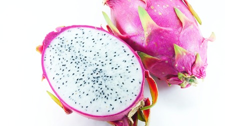 Pitaya or dragon fruit photo