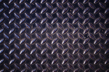 diamond plate: Background of metal diamond plate in silver color