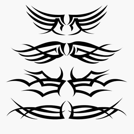 tahiti: Maori tribal tattoo