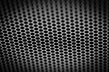 grille: Hexagonal cell texture, Honeycomb, Speaker grille background