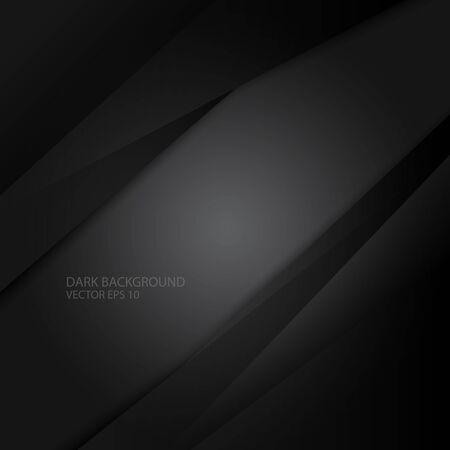 dark and black background, vector and illustration Иллюстрация