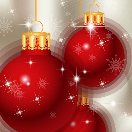 elegant christmas background, vector Stock Vector - 15873950