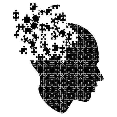 Mind exploding ideas, vector