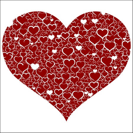 Colorful Valentine Stock Vector - 19749188