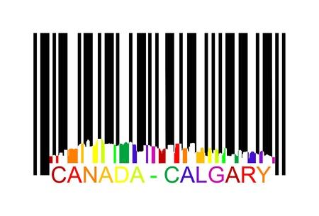 calgary: canada calgary barcode
