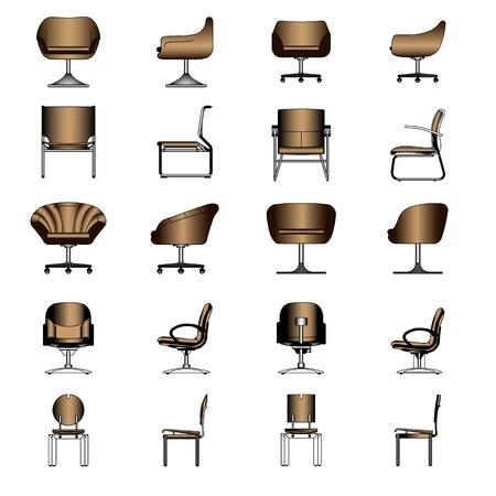 Set of Modern chair