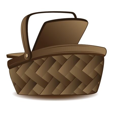 Shopping Basket Stock Vector - 19776538