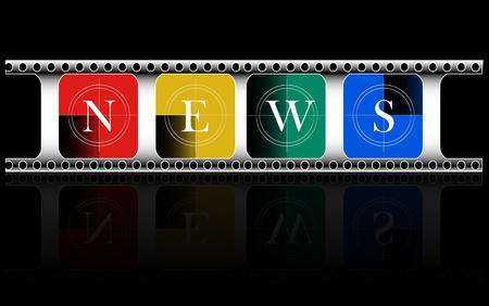 colorful, Media, Electronic news Vector