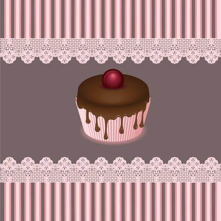 cake cards Stock Vector - 19917954