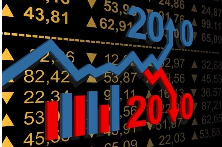 stat:  financial stat background