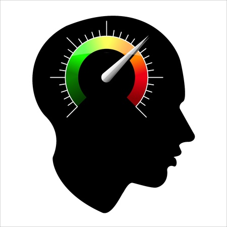 speed of the human mind Vector