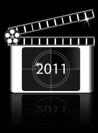 year Film countdown vector  Stock Vector - 20240551