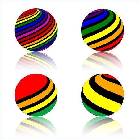 colorful Sphere Stock Vector - 20240314