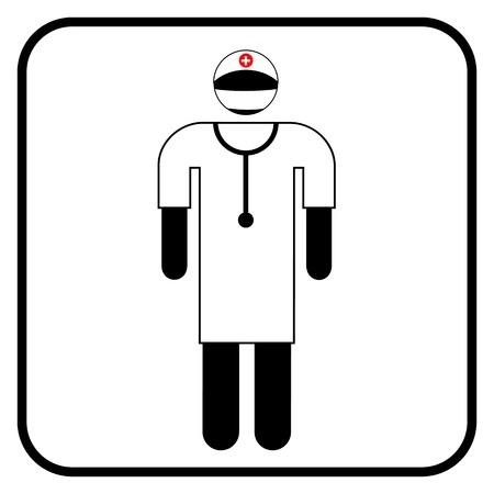 surgeon symbol, vector Stock Vector - 20240352