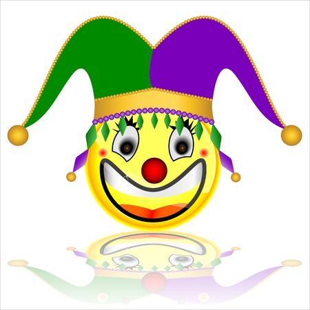 court jester smile character Stock Vector - 20282802