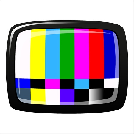 tv - NTSC signal Stock Vector - 20282770
