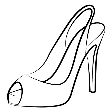 15 317 High Heel Shoe Stock Illustrations Cliparts And Royalty Free