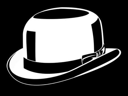 black hat: elegante sombrero negro