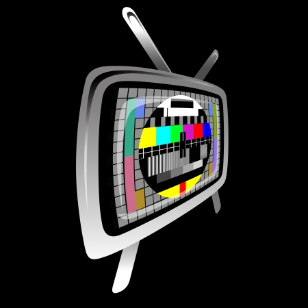tv - 色テスト パターン - テスト カード