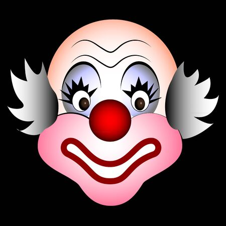 smiling clown Stock Vector - 21003247