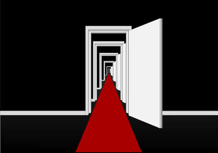 red carpet Stock Vector - 21003286