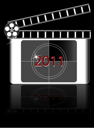 year Film countdown  Stock Vector - 21003298