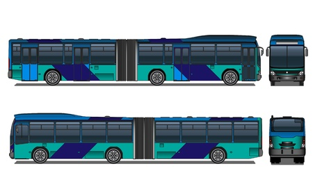 City bus Stock Vector - 21035067