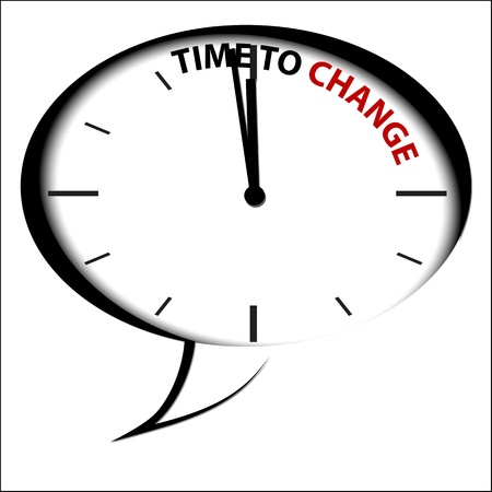 Clock Time is Change